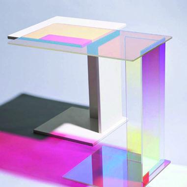Transparence colorée, la couleur comme filtre