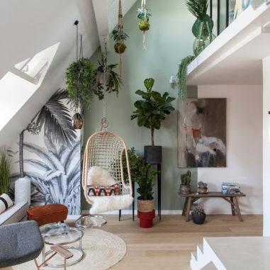 Un intérieur végétal  par Atelier Daaa