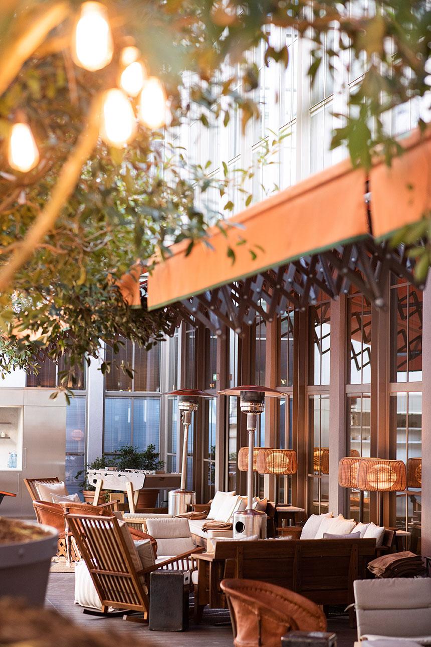 Terrasse Brach Hotel