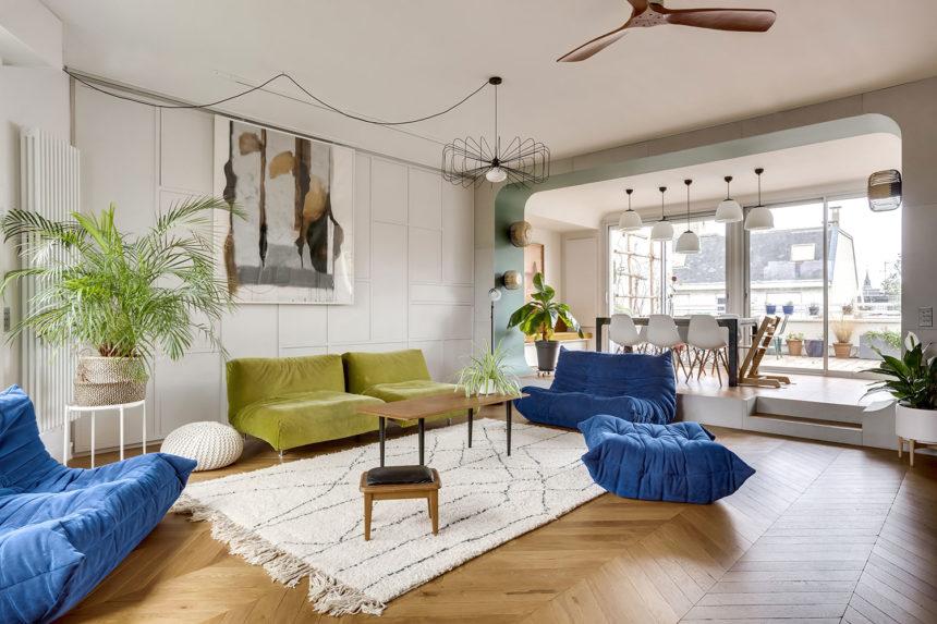 Un appartement<br> de charme