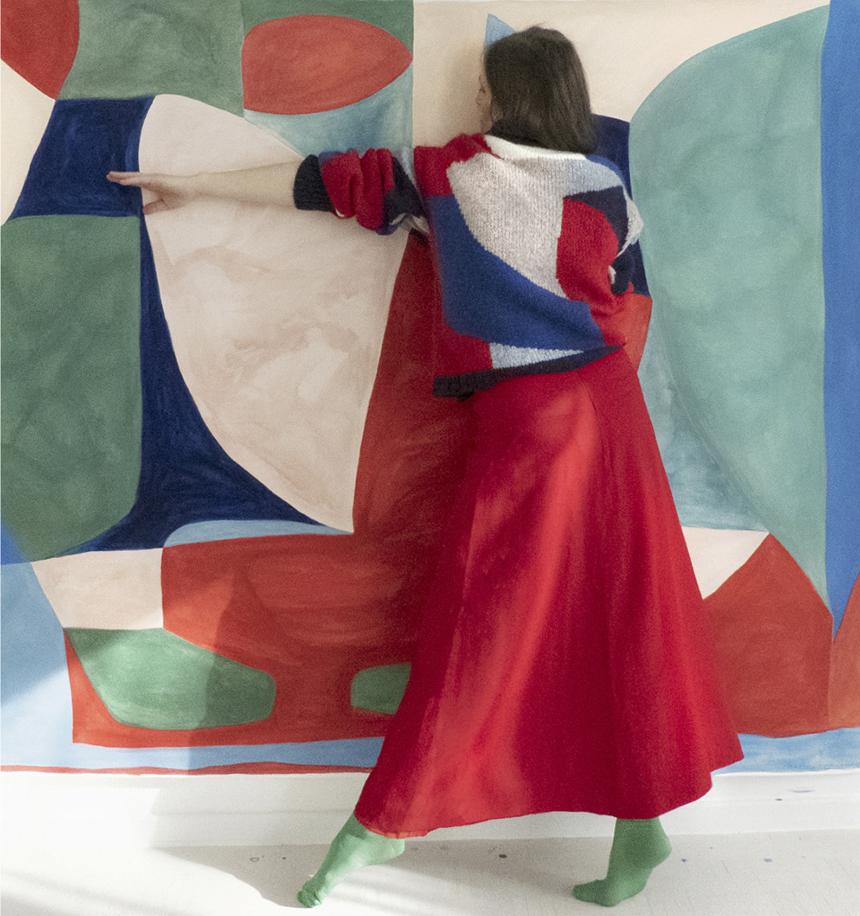 Caroline Denervaud les confettis Double V gallery marseille
