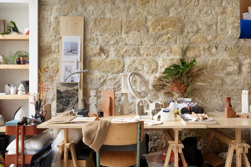 Atelier Stories,  dans <br>les ateliers d'artistes