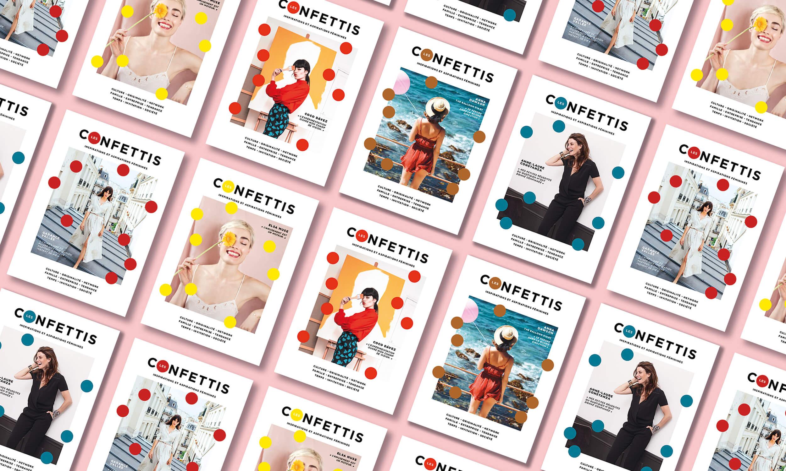 revue feminine les confettis