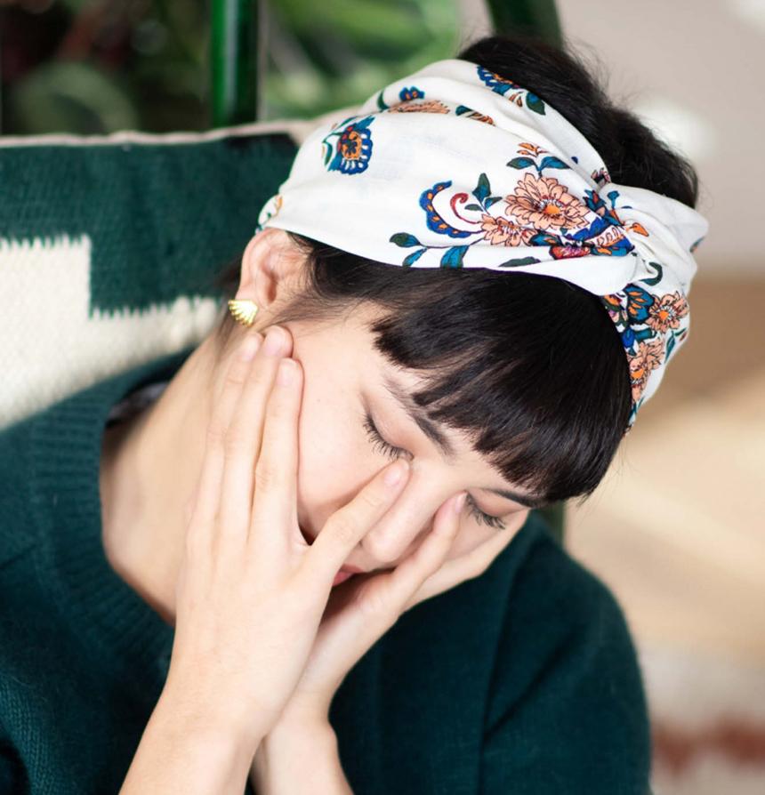 Indira Paris headband les confettis