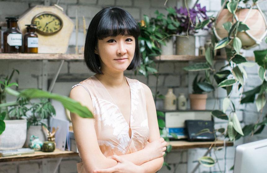 Jin Ahn, curatrice green