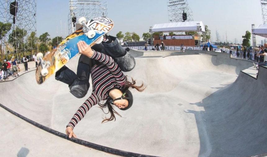 Shani Bru,  palpitante skateuse