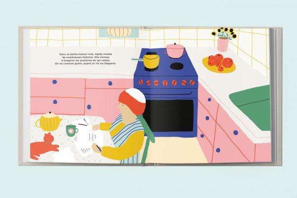 illustration-livre-agnes-les-confettis-jennifer-bouron