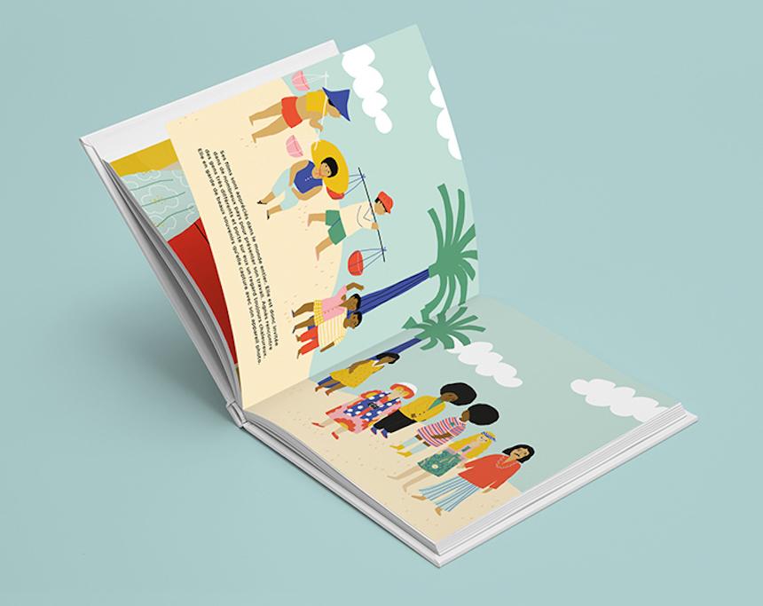 livre-agnes-les-confettis-illustratrice-jennifer-bouron