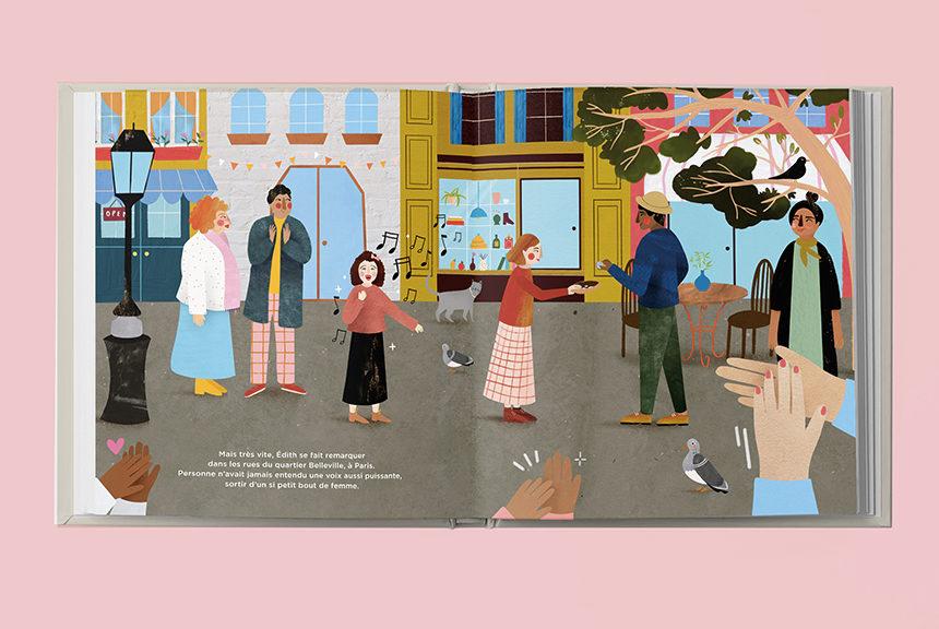 Édith Piaf, héroïne de notre livre pour enfants