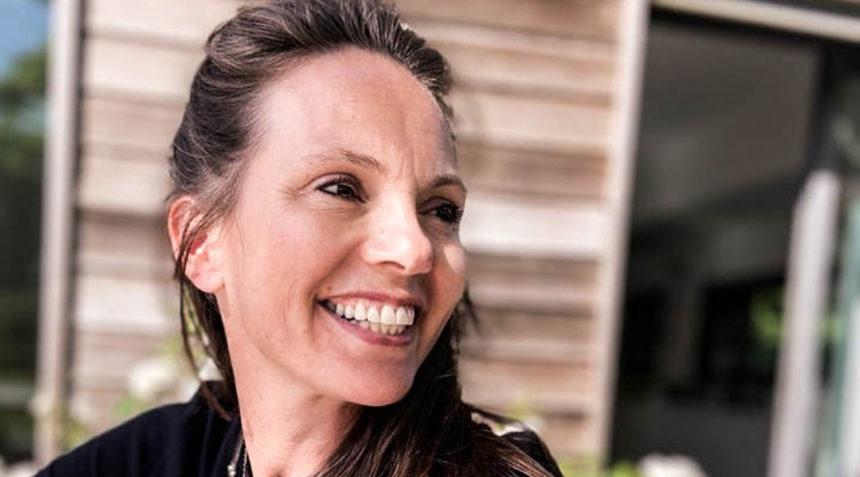 Julie Sauvage, créatrice des collections textiles Gabrielle Paris