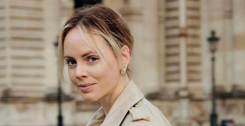 Mathilde Lacombe,  rédac' cheffe invitée  de notre dernière revue