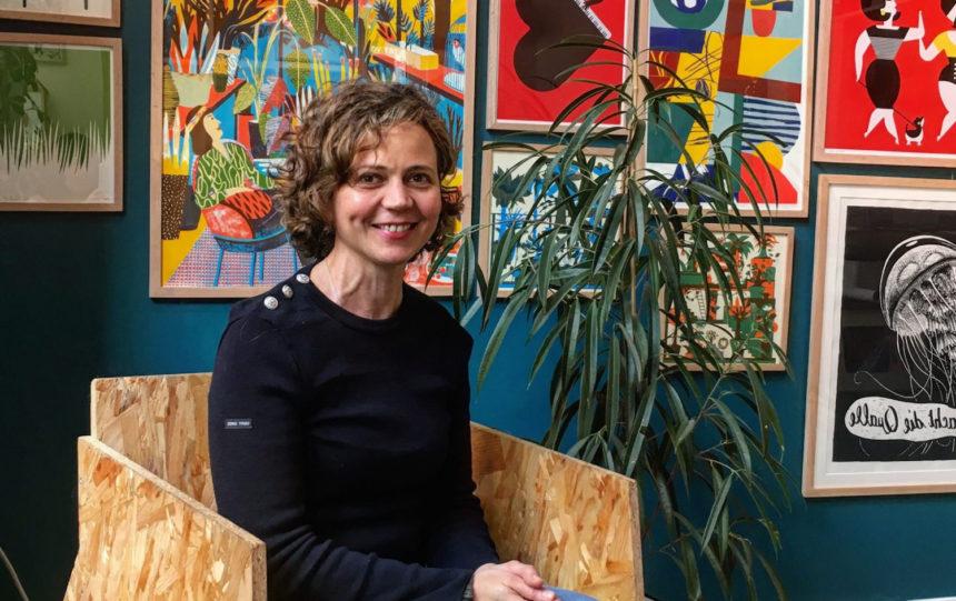 Lamia Magliuli, fondatrice de la Slow Galerie