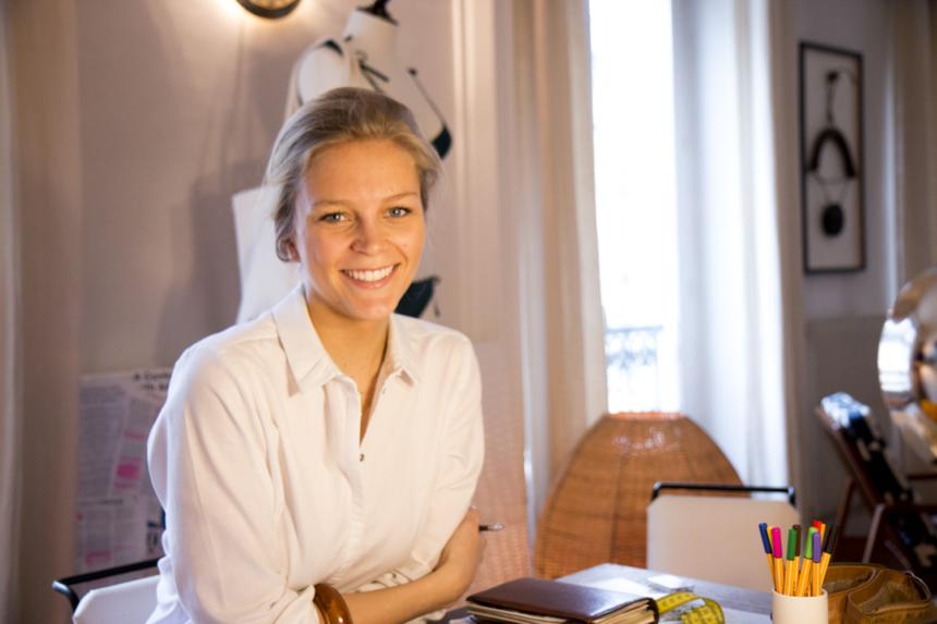 Alexandra Thiltgès, fondatrice des maillots Anja