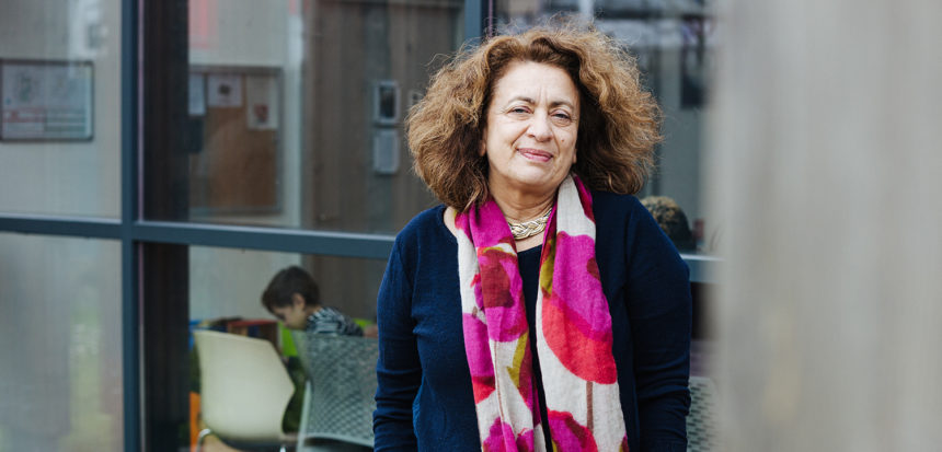 Ghada Hatem, fondatrice de La Maison des Femmes