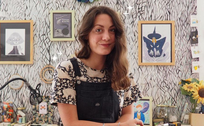 La Griffe de Maho, illustratrice de notre livre SURYA